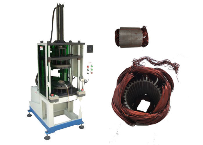Fan Motor Stator Semi-Automatic Coil Winding Forming Machinery SMT-ZZ160