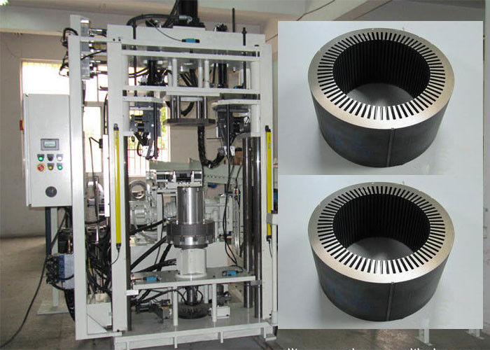 Stator Core Assembly Machine , Refrigerator Fan Alternatorl Rotor Stator Laminated Cores Machine